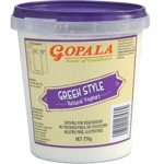Gopala Greek Style Natural Yoghurt 750g