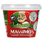 Massimo's Cherry Bocconcini 125g