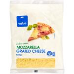 Value Mozzarella Grated Cheese 550g