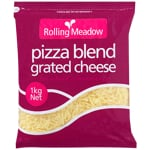 Rolling Meadow Pizza Blend Grated Cheese 1kg