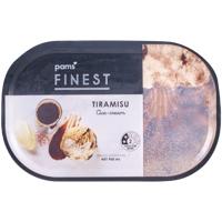 Pams Finest Tiramisu Ice Cream 900ml
