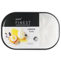 Pams Finest Lemon Sorbet 900ml
