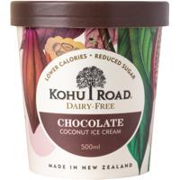 Kohu Road Dairy Free Chocolate Coconut Ice Cream 500ml