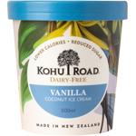 Kohu Road Dairy Free Vanilla Coconut Ice Cream 500ml