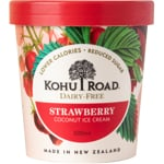 Kohu Road Dairy Free Strawberry Coconut Ice Cream 500ml