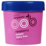 Oob Organic Raspberry Dairy Free Sorbet 470ml