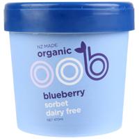 Oob Organic Blueberry Dairy Free Sorbet 470ml