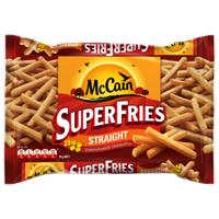 McCain Super Fries Straight Cut 1kg