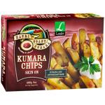 Kauri Coast Kumara Chips Skin On 680g
