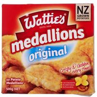 Wattie's Original Potato Medallions 500g