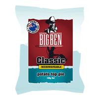 Big Ben Classic Microwaveable Potato Top Pie 140g