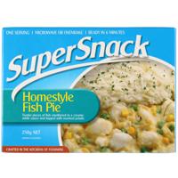 Super Snack Homestyle Fish Pie 250g