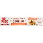 I Love Pies Chorizo Sausage Rolls 400g