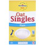 Harraways Oat Singles Porridge Plain Sachets 10pk