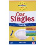 Harraways Oat Singles Variety Pack Sachets 10pk