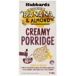 Hubbards Banana Almond Creamy Porridge 0.4kg