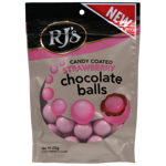 Rjs Licorice Candy Coated Strawberry Chocolate Balls 200g