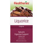 Healtheries Tea Liquorice 20ea