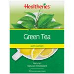 Healtheries Green Tea With Zesty Lemon Tea Bags 50pk