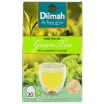 Dilmah Pure Ceylon Green Tea Wtih Jasmine Bags 20pk