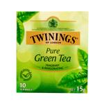 Twinings Pure Green Tea Bags 10ea