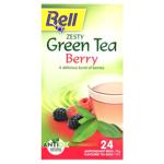 Bell Berry Zesty Green Tea Bags 24ea