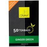 Chanui Ginger Green Tea Bags 50ea