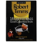 Robert Timms Gold Colombia Style Coffee Bags 105g