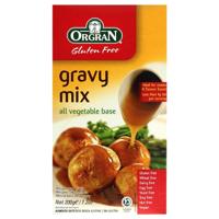 Orgran Gluten Free Gravy Mix All Vegetable Base 200g