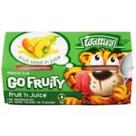Wattie's Go Fruity Fruit Salad In Juice 4pk