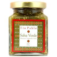 Tio Pablo Salsa Verde Mexican Tomatillo Mild Salsa 200g