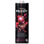 McCoy Beetroot Raspberry & Pomegranate Fruit Juice 1l