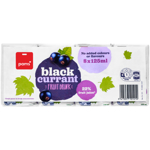 Pams Blackcurrant Fruit Drink 8ea