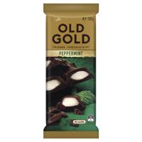 Cadbury Old Gold Peppermint Dark Chocolate Block 180g