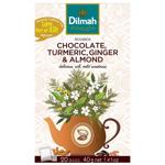 Dilmah Chocolate Turmeric Ginger Almond Tea Bags 20ea