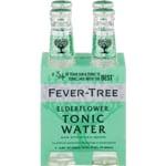 Fever-Tree Elderflower Tonic Water 4pk