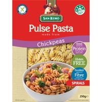 San Remo Chickpeas Spirals Pulse Pasta 250g