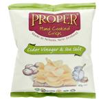 Proper Hand Cooked Cider Vinegar & Sea Salt Potato Crisps 40g