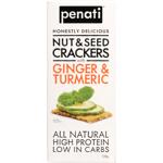 Penati Ginger & Turmeric Nuts & Seeds Crackers 120g