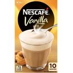 Nescafe Cafe Menu Vanilla Latte Sachets 10pk