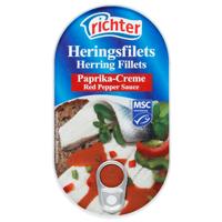 Richter Herring Fillets In Red Pepper Sauce 200g