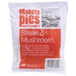 Maketu Pies Steak & Mushroom Pie 1ea