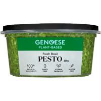 Genoese Plant Based Fresh Basil Pesto 200g