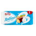 Balconi Rollmilk Sponge Cakes With Milk Filling 6pk
