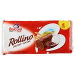 Balconi Rollkao Sponge Cakes with Cocoa 6pk