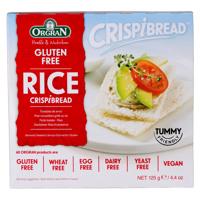Orgran Gluten Free Rice Crispbread 125g