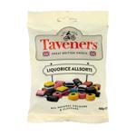 Taveners Liquorice Allsorts Confectionery 165g