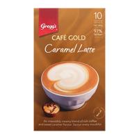 Gregg's Greggs Cafe Gold Coffee Caramel Latte Sachets 10pk