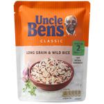 Uncle Ben's Uncle Bens Rice Express Long Grain & Wild 250g