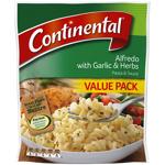 Continental Garlic & Herb Alfredo Pasta & Sauce 145g